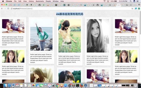 pinterest layout with css dynamic responsive pinterest style columns layout with