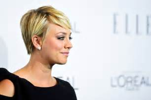 sweeting kaley cuoco new haircut more pics of kaley cuoco sweeting pixie 2 of 12 short