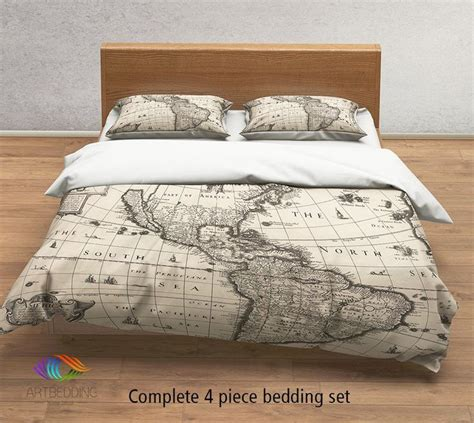 antique bedding linens 17 best ideas about world map bedroom on map
