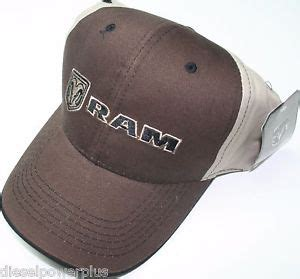 Auto Logo Hats by Dodge Ram Auto Car Diesel Embroidered Baseball Cap Truck