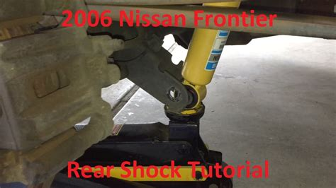 how to remove rear shock on a 2008 aston martin dbs tutorial change 2006 nissan frontier rear shocks youtube