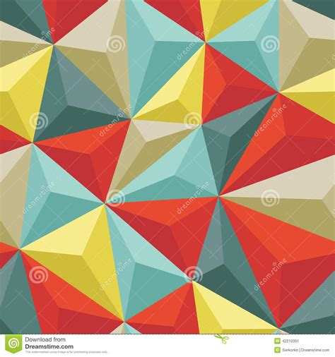typing pattern project abstract abstract seamless background with relief triangles