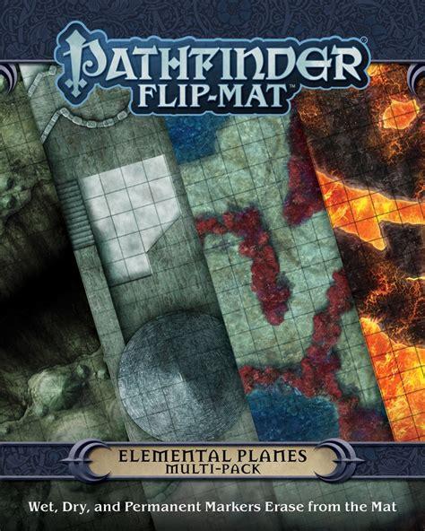 starfinder flip mat starship books paizo pathfinder flip mat elemental planes multi pack