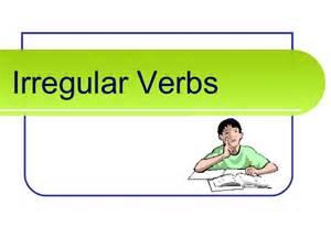 irregular verbs powerpoint for 2nd grade grammar ivana