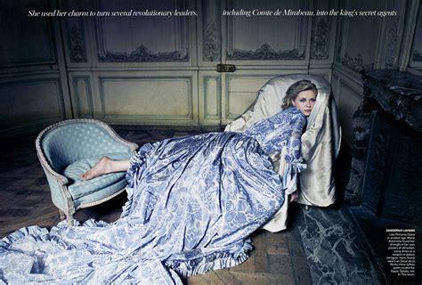 film blue france 18th century fashion marie antoinette haute couture