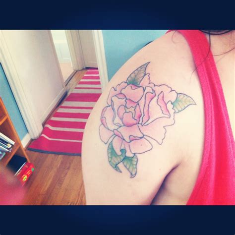 icon tattoo portland peony betty icon portland on