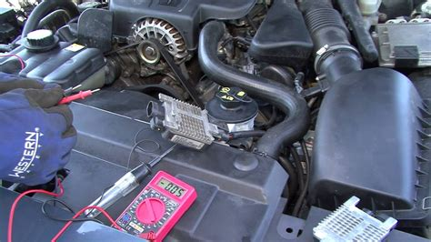 crown victoria radiator fan module troublehooting