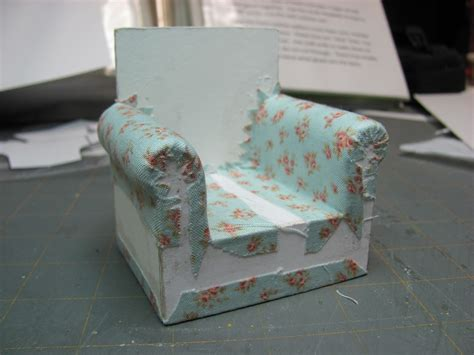 chair upholstery tutorial how to couch and chair very easy with just foam and glue