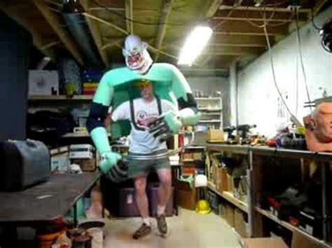 jumbo  clown costume  progress youtube