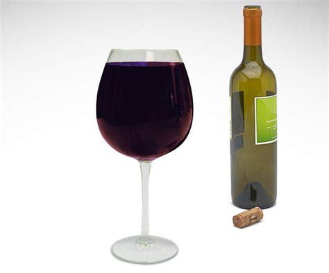 Cylinder Wine Glass Bottle Wine Glass