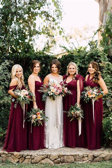 Best 25  Fall wedding bridesmaids ideas on Pinterest