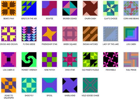 Traditional Quilt Block Patterns by Traditional Pieced Quilt Blocks Patterns With Templates