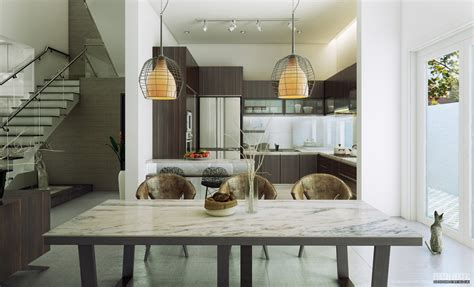 dining chairs interior decorating ideas contemporary dining room chairs pendant lamp olpos design