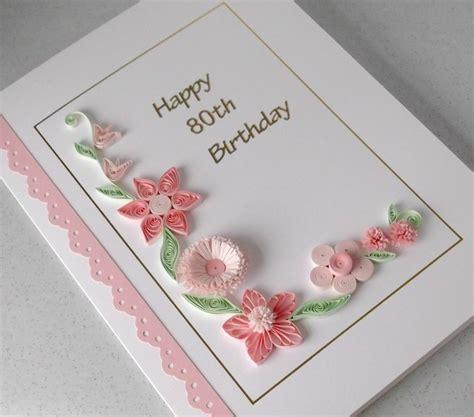 Handmade 80th Birthday Cards - 80th birthday card folksy
