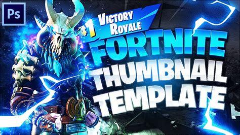 fortnite thumbnail template fortnite thumbnail template free photoshop cc