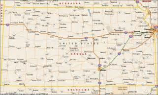 us map kansas kansas map