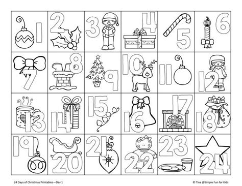 printable advent calendar catholic 44 best christmas coloring calendar images on pinterest