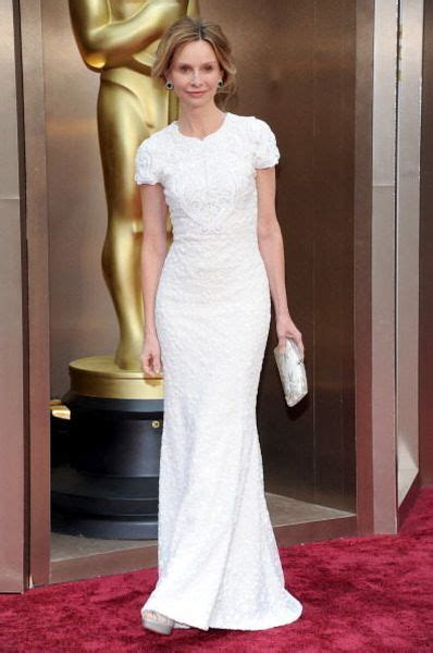 Oscars Carpet Calista Flockhart by Oscars 2014 Whites Metallics And More Carpet Moments