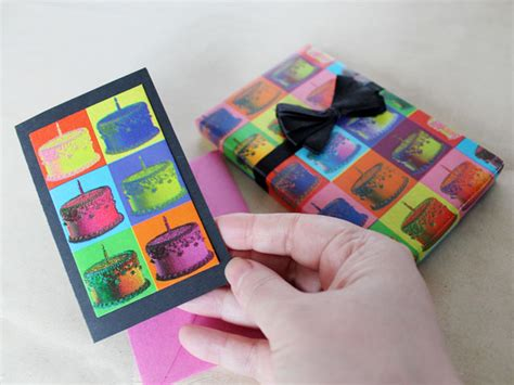 Handmade Birthday Presents For - handmade birthday cards using gift wrap loulou downtown