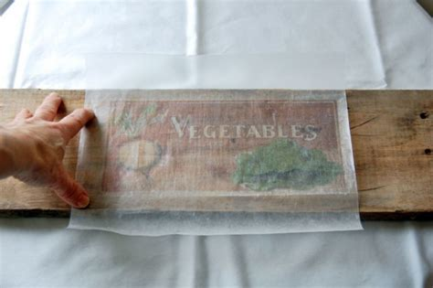 wax paper transfer tutorial learn how to transfer pictures onto wood with wax paper