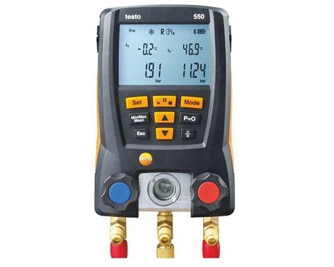 testo calore testo 550 misuratore di temperatura tramite app
