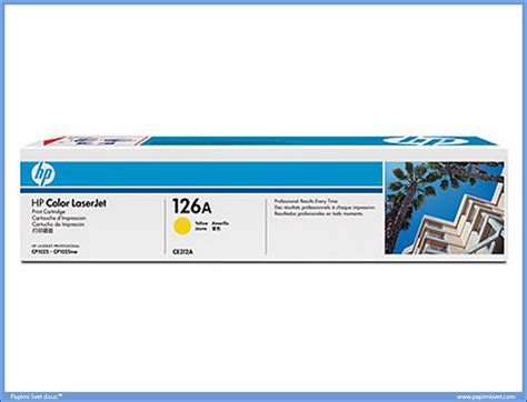 Toner Hp 126a Yellow hp toner ce312a yellow 126a papirni svet