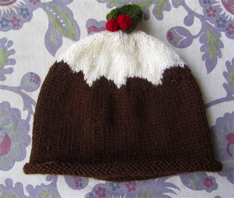 knitting pattern xmas pudding hat christmas pudding hat do it yourslef