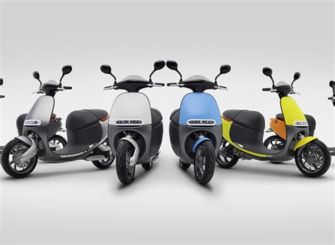 designboom gogoro eicma 2016 gogoro smartscooter ev launches sharing
