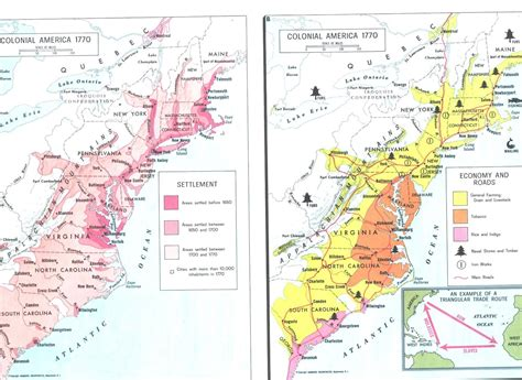 interactive map of colonial america colonial america 1770 maps colonial