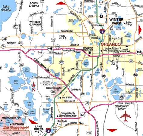 map of orlando fl blogs map of orlando