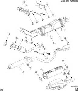 Saturn Exhaust System Parts 2003 Saturn Ion Exhaust System