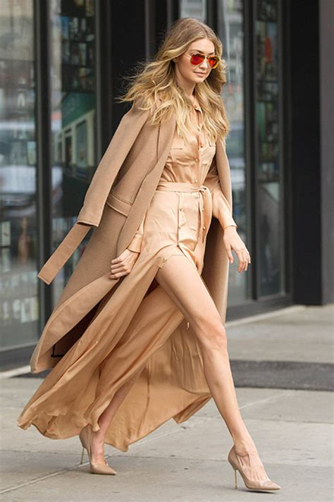 Split Level Style who knew head to toe camel could look this good evoke ie