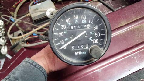 jeep wrangler speedometer 1988 jeep wrangler yj speedometer cable removal