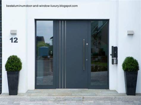 puerta entrada casa puertas residenciales de aluminio arquitectura de casas