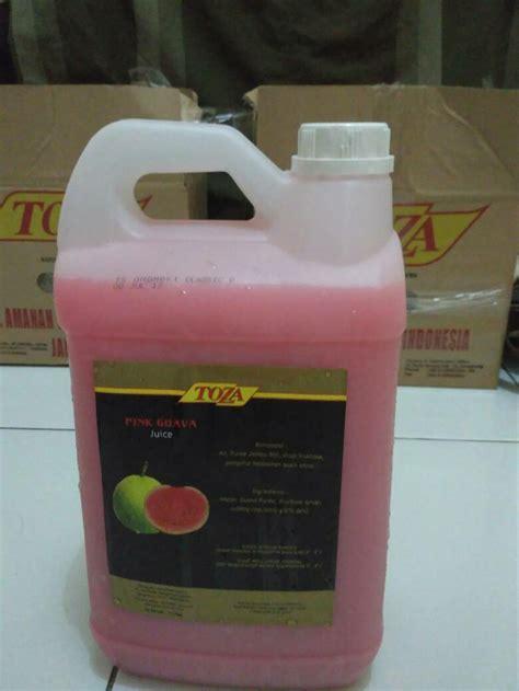 jual toza juice jus segar aneka rasa buah ukuran  liter