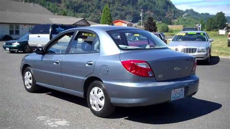 2001 kia rio sold youtube