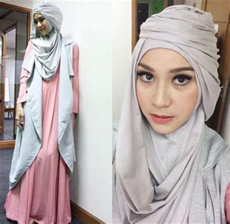 Jilbab Instan Ala Zaskia Mecca Tips Berkreasi Mengenakan Jilbab Instan Agar Jilbab Instan