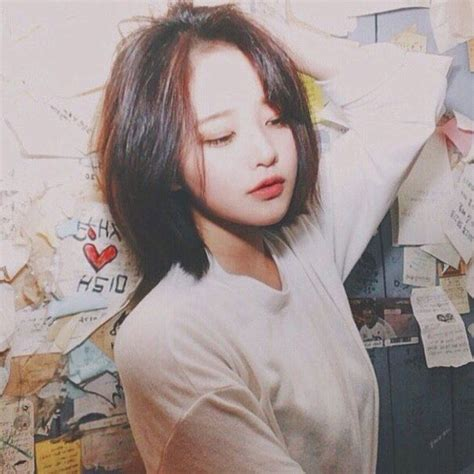 asimetric haircuts korean eulls91 hair short pinterest seoul ulzzang and