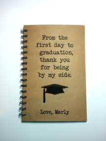 graduation gift to parents graduation notebook to to