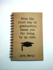 Thank You Letter Parents Graduation graduation gift to parents graduation notebook to mom to