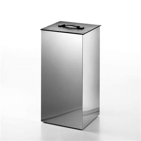 Complements Stainless Steel Small Laundry Basket With Small Laundry With Lid