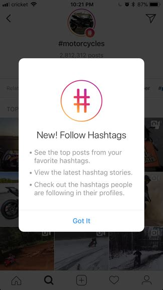 what happens after you follow an instagram hashtag preview app how to follow hashtags on instagram