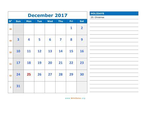 december 2017 calendar wikidates org