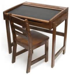 lipper international child s desk with chalkboard top and
