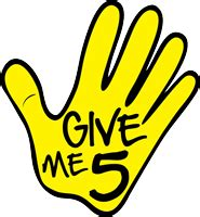 Give Me 5 The House Volunteer Lcs Lynchburg City Schools