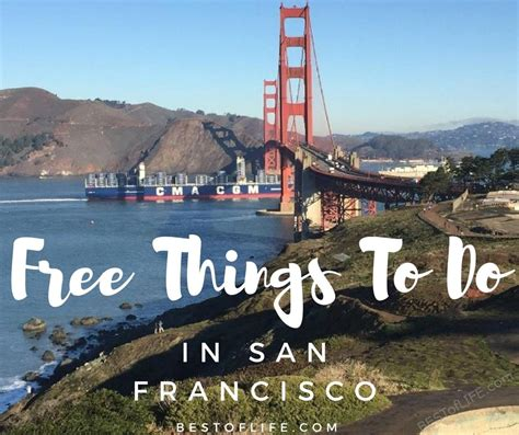 7 Things To Do In San Francisco by Things To Do In San Francisco For Free The Best Of
