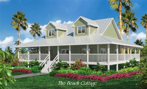 beach cottage home plans beach house plans with wrap around porches cottage house