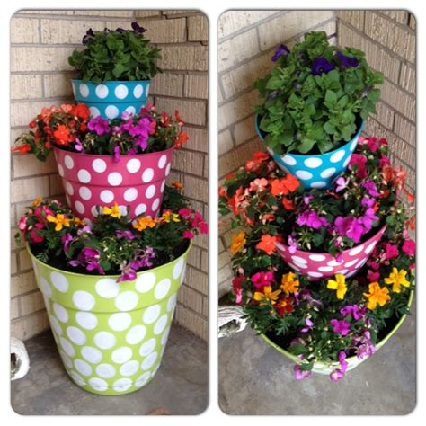 painted flower pots for the home paint flowers