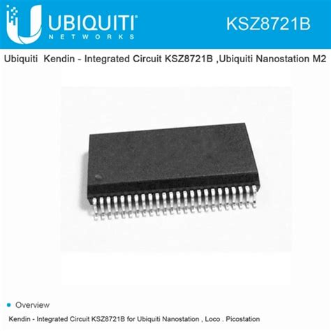 kendin integrated circuit ksz8721b for ubiquiti nanostation loco picostation
