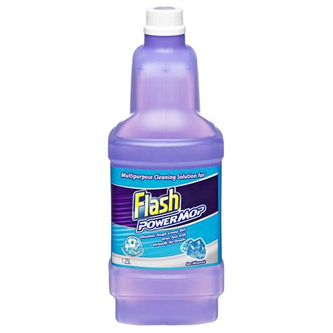 Cleaning Solution by 2 Bottles 1l Refill Flash Power Mop Floor Cleaner Multi Ebay